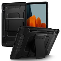 Case Galaxy Tab S7 SPIGEN Tough Armor Pro with Stand & Pencil - Black