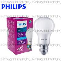 Lampu LED Bulb Philips MyCare 6 Watt W E27 Putih Cool Daylight 6500K