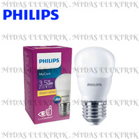 Lampu LED Bulb Philips MyCare 3.5 3,5 Watt E27 Kuning Warm White 3000K