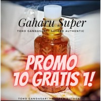 Minyak Wangi GAHARU SUPER 6ml bibit murni aroma kayu non alkohol