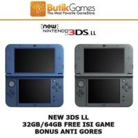 New Nintendo 3DSXL 3DS XL CFW 32GB 32 GB