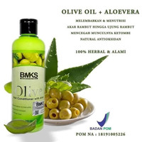 BMKS OLIVE OIL CONDITIONER 250ML Perawatan Rambut / BPOM Original