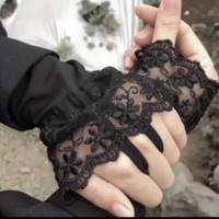 Handsock Manset Cincin Ring Renda Brukat Renda Tile Walimah