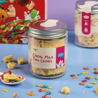 Mookie Cereal Milk Tres Leches Cake In a Jar