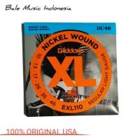 Senar Gitar Elektrik D'Addario EXL110 ORIGINAL USA