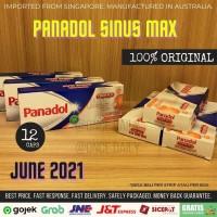 [TERMURAH] PANADOL Sinus MAX COLD + FLU 12 Caplets [AUSTRALIA]