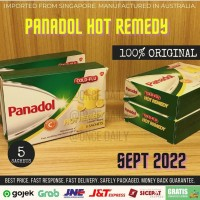 [TERMURAH] PANADOL Cold and Flu Hot Remedy 5 Sachets [IMPORT]