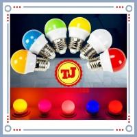 Lampu Led warna warni 2 watt bohlam led warna 2 w 2watt
