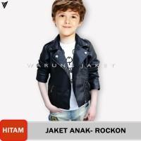 Jaket Sintetis Grade A Fashionable Kids WJS17 PU LEATHER SEMI KULIT - S