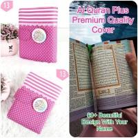 ALQ17 Al Quran & Sampul Mushaf Terjemah an Halimah Alquran Cover A6 - Tanpa Nama
