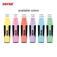 Highlighter / Penanda Joyko Pastel Color (Warna Pastel)