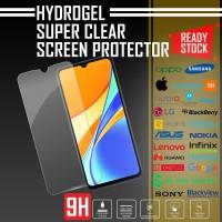 HYDROGEL ANTI GORES REDMI 9C SUPER CLEAR QUALITY