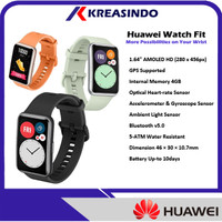 Huawei Watch Fit Smartwatch Garansi Resmi
