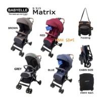 Terbaik Stroller Babyelle Matrix S515 Kereta Bayi Travel Lipat Praktis