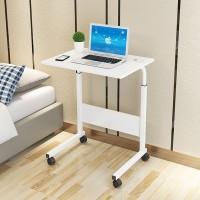 Mainland Stand Meja Laptop Roda Portable HML201 - Putih