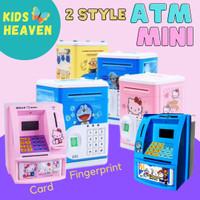 Mainan Edukatif / Edukasi Anak - Celengan ATM Bank uang tabungan mini - HELLOKITTY