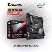 Motherboard Intel LGA 1200 - Z490 AORUS ELITE AC (rev. 1.0)