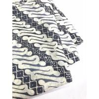 DOBY ABU PASTEL motif 1 dobi dobby bahan kain batik parang lereng