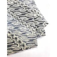 DOBY ABU PASTEL motif 4 dobi dobby bahan kain batik atbm parang lereng