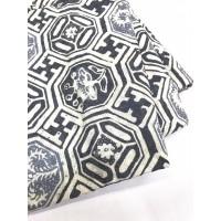 Viscos Abu pastel motif 4 cirebon bahan kain batik viscose viskos atbm