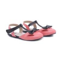 Sepatu Sandal anak perempuan- Sendal anak pita pink Cantik TH