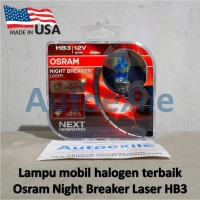 Osram NBR Laser Next Generation HB3 NBL Night Breaker Gen2 Lampu Mobil