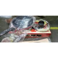 Supra Rosemary Non Stick Stir Pan Set 22 cm / Wajan Pengorengan