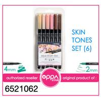 Brush Pen Set Lyra Aqua Brush Duo Pen Skin Stones Set 6 - 6521062