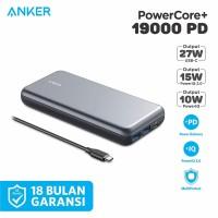 PowerBank Anker PowerCore+ PD 19000 mAh Silver - A1362
