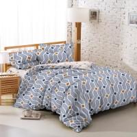 TOMOMI - BED SHEET SET / SPREI SET TENCEL TOUCH DIAGONAL