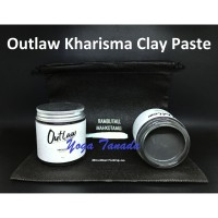 POMADE OUTLAW KHARISMA CLAY PASTE BY WESLEY HUANG (FREE SISIR + POUCH)