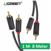 UGREEN RCA to RCA M Gold Plated Audio Cable High Fidelity Stereo 2 M