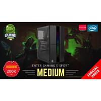 Paket PC Enter Gaming E-Sports MEDIUM INTEL X AMDGraphics