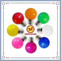 Lampu Led warna warni 3 watt bohlam led warna 3 w 3watt / LED Pingpong