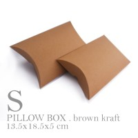 BOX / PACKAGING / PAPER BAG / PILLOW BOX SMALL SIZE (11x18x4 cm)