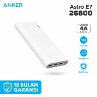 PowerBank Anker PowerCore E7 26800 mAh White - A1210