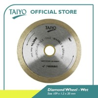 Taiyo Diamond Wheel Continuous For Marble & Granite 105mm