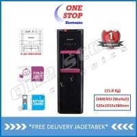 Sharp Dispenser Bottom Loading - SWD-66EHL-BP (Black - Pink)