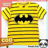 Panda Kids Kaos Anak Laki-Laki Lengan Pendek Motif Batman Salur