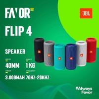 JBL Flip 4 Waterproof Portable Bluetooth Speaker Original - Hitam