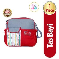 SNOBBY TAS BAYI BY-13 SMALL RED #03