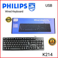 Keyboard USB kabel Philips K214-Original
