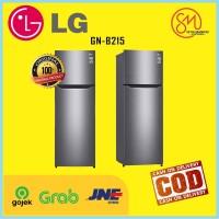 LG GNB215SQMT Kulkas 2 Pintu Inverter 209 Liter - GNB 215 SQMT