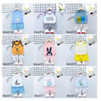 Baju Bayi / Setelan Bayi Anak / Setelan Oblong Singlet Bayi Anak - MOTIF P