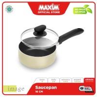 Maxim Image Teflon 16cm Panci Saucepan