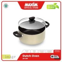 Maxim Image Teflon 24cm Panci Dutch Oven