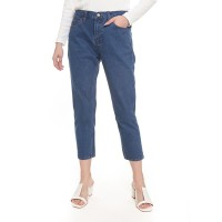 2nd RED Mom Jeans in Mid Blue 242003