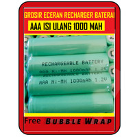 BATERAI AAA RECHARGEABLE BATTERY Batrai Charge batre cas isi ulang