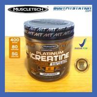 MuscleTech Platinum Creatine 400 Grams / muscletech creatine bubuk