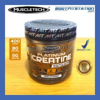 MuscleTech Platinum 100% Creatine 400 Grams / g gr gram monohydrate